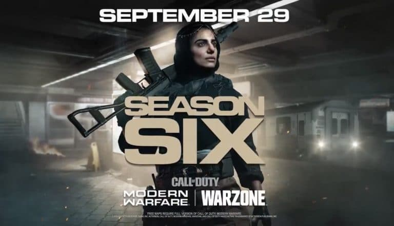 Call of Duty Warzone - Season 6 m4a1 setup