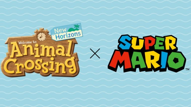 Super Mario Animal Crossing