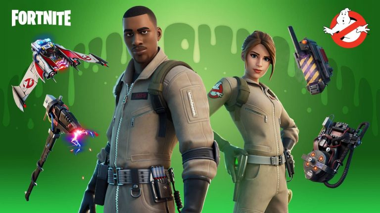 Fortnite Ghostbusters