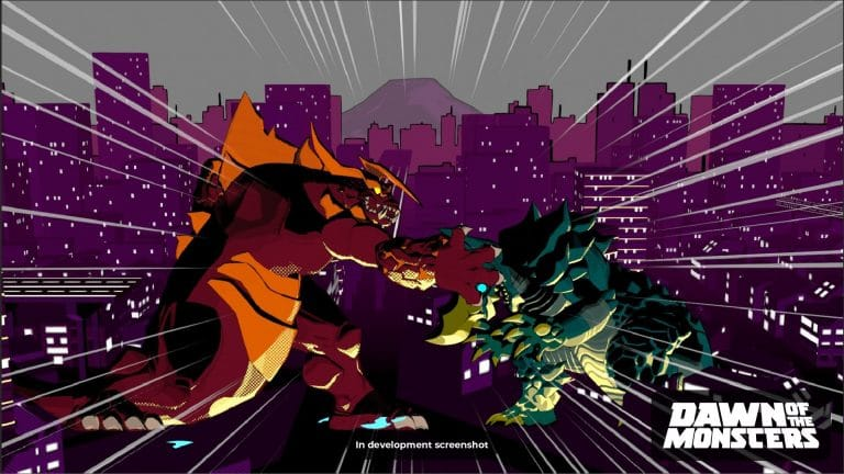 Dawn of the Monsters, beat-em-up a tema kaiju di WayForward a tardo 2021 su Nintendo Switch