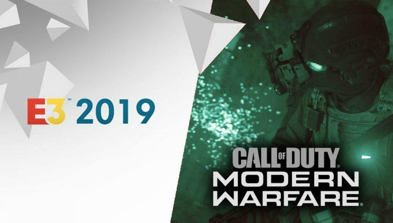 Copertina di Call of Duty Modern Warfare in occasione dell'E3 2019