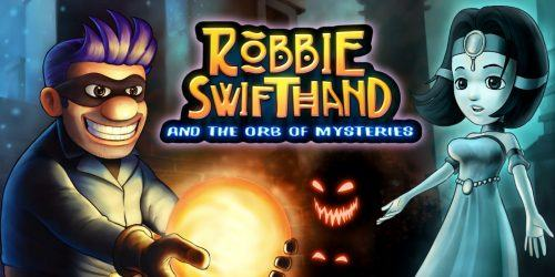 La copertina di Robbie Swifthand and the Orb of Mysteries