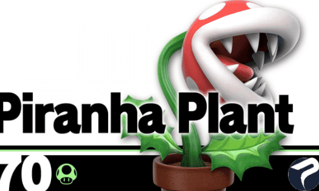 Super Smash Bros Ultimate Bug Pianta Piranha