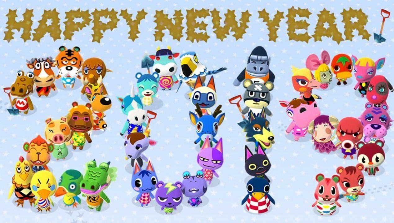Animal Crossing: Auguri di buon anno da Nintendo