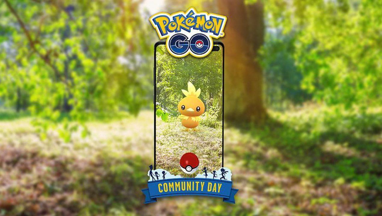 Pokémon Go community day torchic