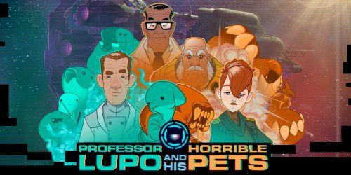 professor lupo and his horrible pets banner cover recensione nintendo switch eshop