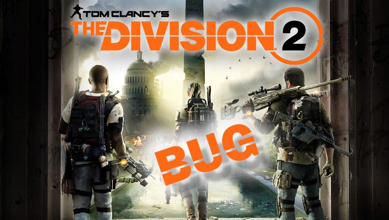 Tom Clancy's the Division 2 copertina dei bug